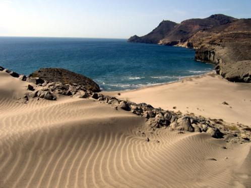 Parque Natural Cabo de Gata playa