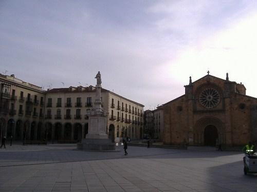 Plaza de Santa Teresa en Avila