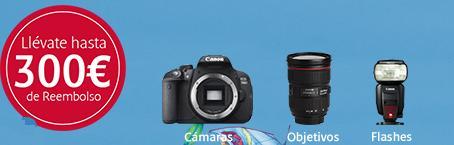 Grandes descuentos en los equipos Canon