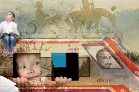 El tren de Cervantes, un original recorrido