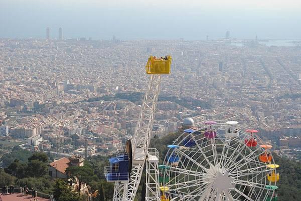 Que hacer en Barcelona: Parque Tibidabo