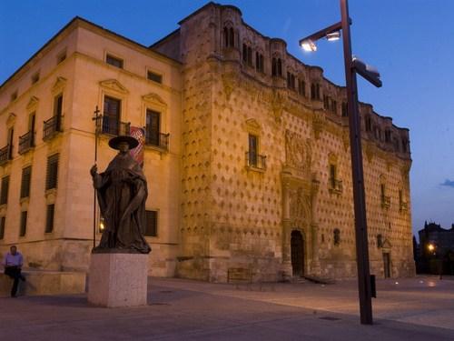Palacio del Infantado en Guadalajara.