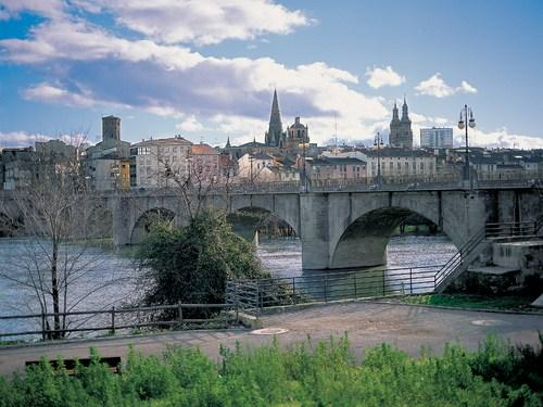 Vista de Logroño