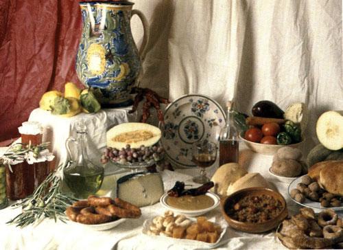 Gastronomía castellano-manchega, rica tierra