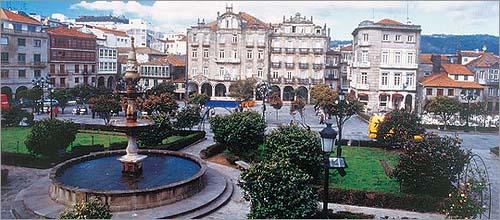 Pontevedra, el corazon de las piedras