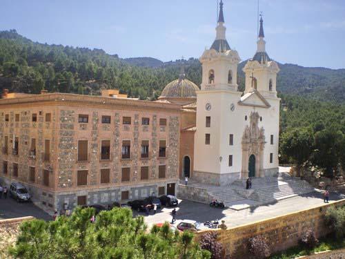 El Santuario de la Fuensanta, patrona de Murcia