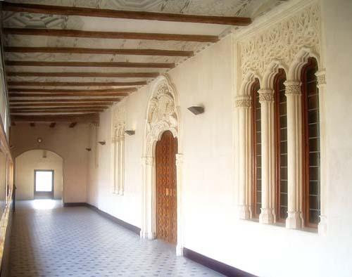 La belleza mora del Palacio de la Aljafería, en Zaragoza
