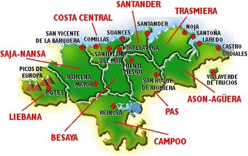 Información de Cantabria