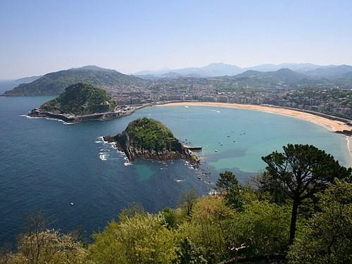 San Sebastián, vista