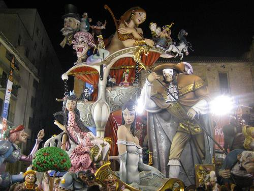 Las Fallas de Valencia, guía e historia
