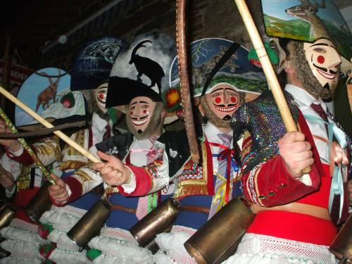 Los peliqueiros, fiestas de carnaval en Orense
