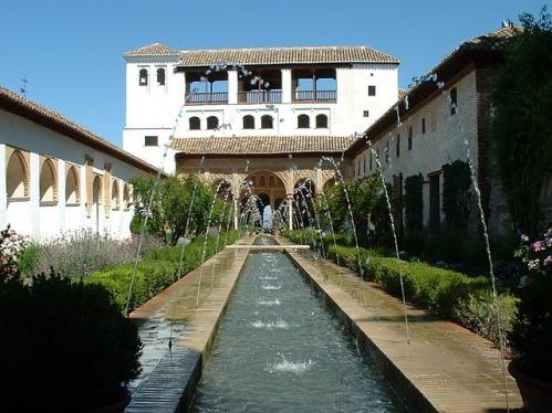 El Generalife de Granada, el Jardín del Paraíso
