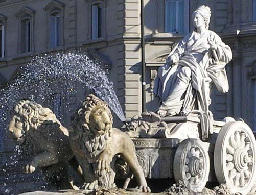 La Cibeles, estampa emblemática de Madrid