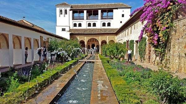 Visita a los jardines del generalife de granada for Jardines de gomerez granada