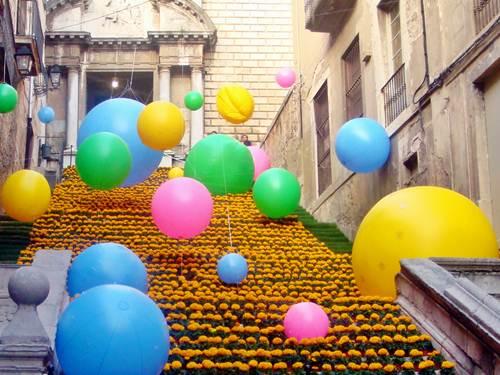 Temps de flors, preciosa fiesta en Girona
