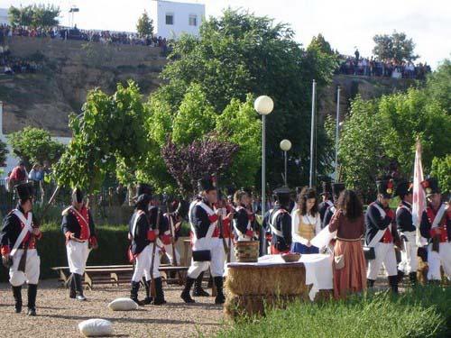 La Batalla de La Albuera, en Badajoz