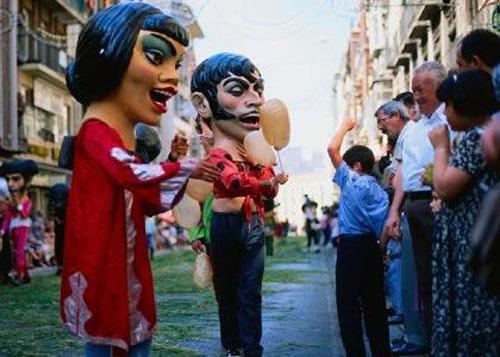 El Corpus, fiestas mayores de Granada