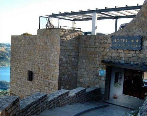Hotel Arco de la Villa. Zahara de la Sierra (Cádiz)