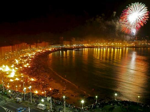 Fiestas de San Juan 2014 en La Coruña