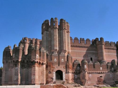 Castillo de Coca, una fortaleza ejemplar