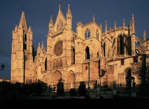 La Catedral de León, símbolo de la ciudad