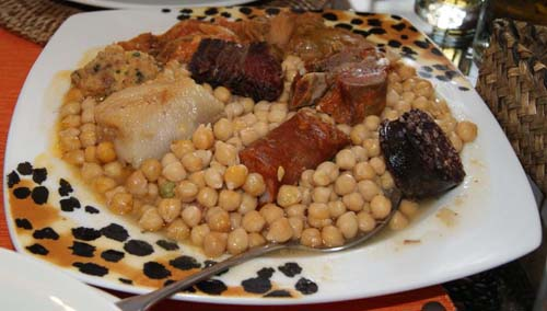 El cocido lebaniego, plato típico en Cantabria