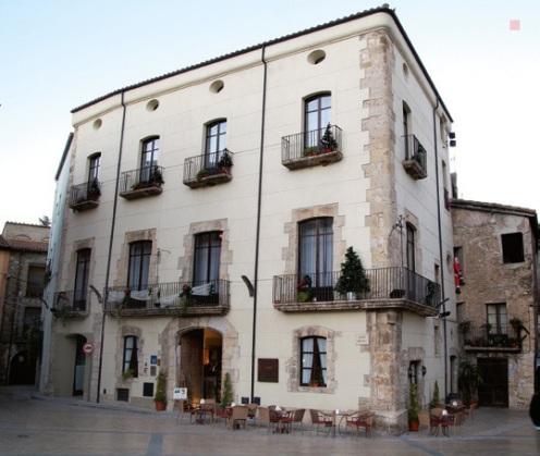 Hotel Comte Tellaferro. Besalú (Girona).