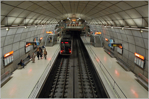 El metro de Bilbao: información práctica