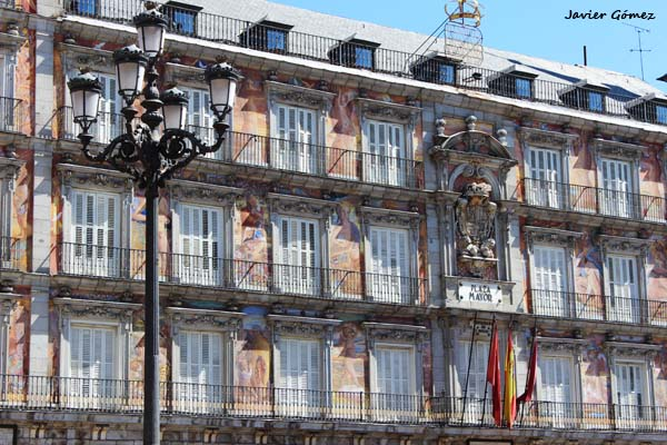 Plaza Mayor, en Madrid