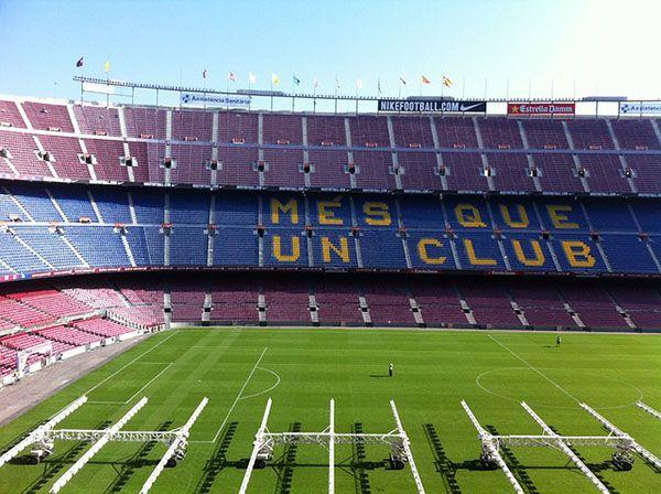 Nou Camp en Barcelona
