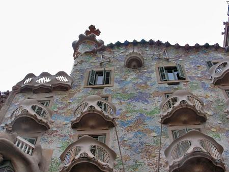 Casa Batlló, escenario de un cuento de hadas