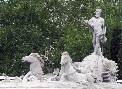 La Fuente de Neptuno, emblema atlético