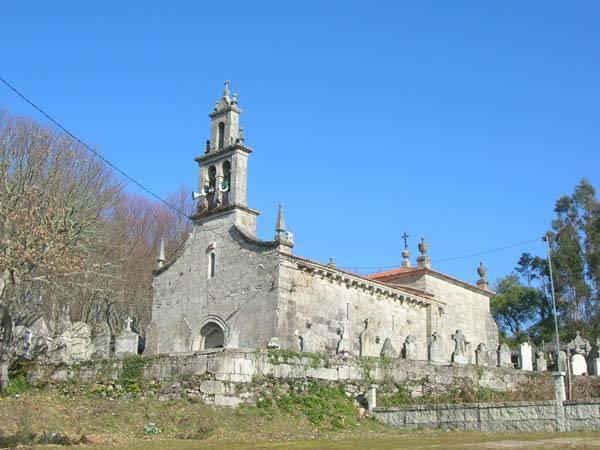 Iglesia de Santa María de Xuvencos, Boborás, Ourense