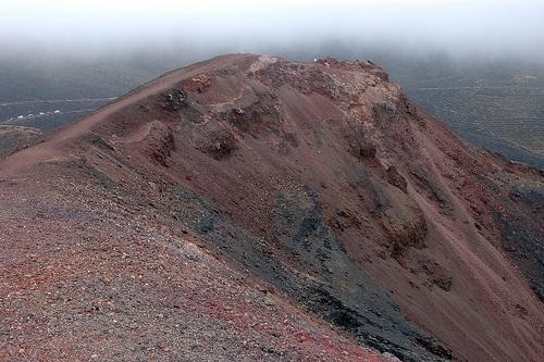 Caminata por los volcanes de La Palma