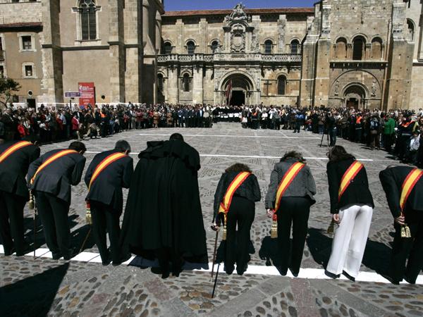La Fiesta de las Cabezadas en León