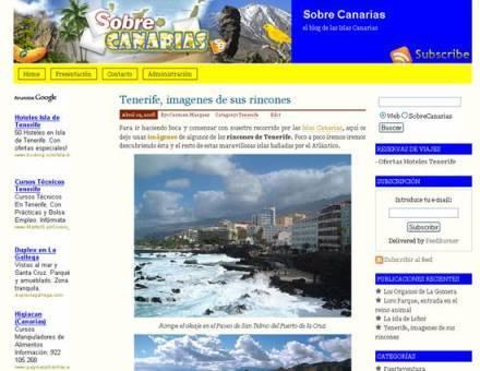 SobreCanarias, blog sobre Islas Canarias