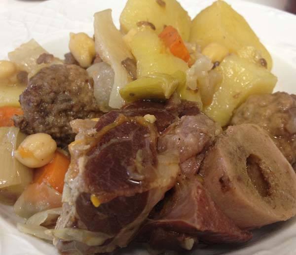 Escudella i carn d'olla, un clásico de la Navidad