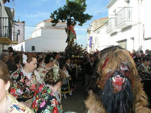 Fiesta-de-Las-Carantoñas en Caceres