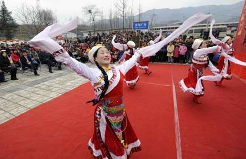 Fiesta de la Primavera, Año Nuevo chino