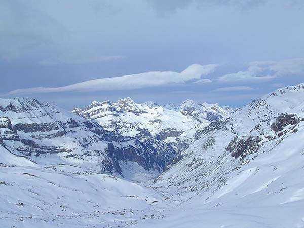 Esquiar en el Pirineo Aragonés