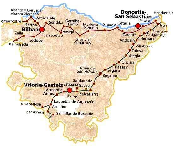 Camino de Santiago por el País Vasco