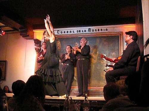 El Corral de la Morería, flamenco en Madrid