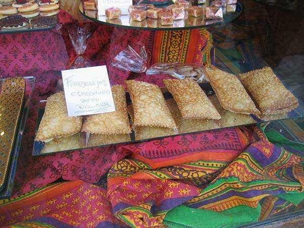 Los fardelejos, dulces típicos en Arnedo