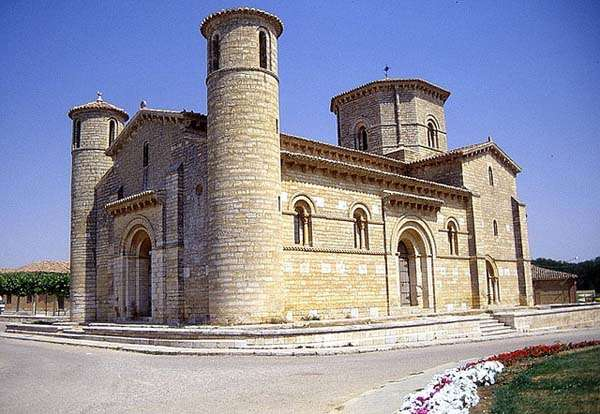 El románico de Palencia en el Camino de Santiago
