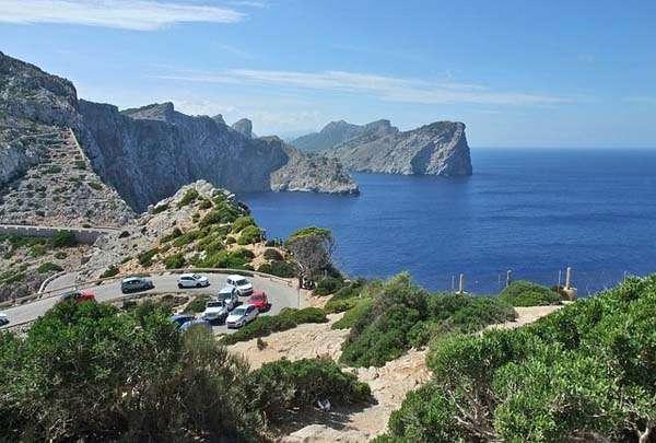 Cap de Formentor en Mallorca