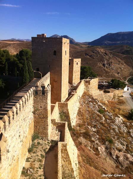 Murallas de la Alcazaba de Antequera
