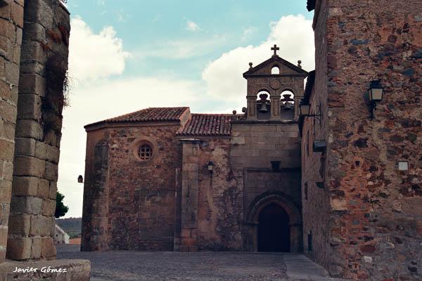Por las calles del casco histórico de Cáceres