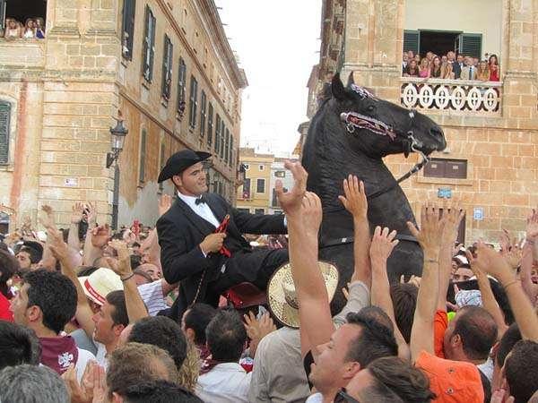 Las fiestas de Sant Joan en Ciudadela