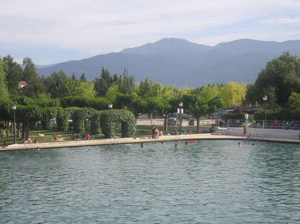 La Balsa de Cela, manantial con forma de piscina