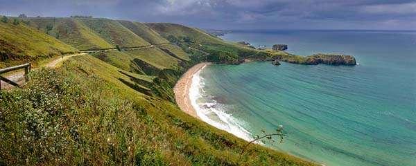 Playa de Torimbia en Llanes - Asturias